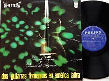 Paco De Lucia Y Ramon De Algeciras - Dos Guitarras Flamencas LP 1967 1st Spanish