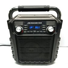 ION Job Rocker Max USB charger AUX Bluetooth Speaker W/ LED Light