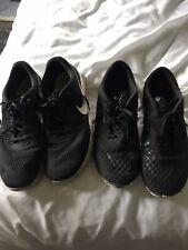 2 Pairs Men's Nike Black Trainers Free Run 3.0 Flyknit UK 11