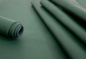 Möbelleder Rindsleder Alpi Nappa antik-grün 1,2-1,4 mm Wunschgröße Leder #w23