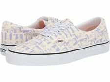 New Vans Breast Cancer Awareness Lace Up Sneaker Skateboarding Shoe White Beige