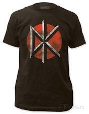 Dead Kennedys - Distressed Logo (slim fit) Apparel T-Shirt XL - Coal