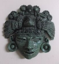 Mexico ~ Crushed Stone ~ Wall Mounted ~ Figure With Headress