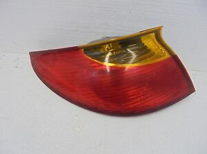 Tail Light Lamp Taillight Taillamp Saturn SC 1 SC 2 01 02 Coupe Left Driver Side