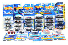 34 pc Hot Wheels Ford Die Cast Car Lot Shelby Cobra+Escort 1991-2004 Mattel NOC