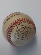 Diamond 5oz Baseball signed