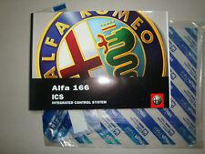MANUALE D' ISTRUZIONE ICS ALFA ROMEO 166 CODICE 60431253