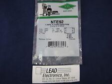 Nte92 Npn Si Audio Power Amp Authorized Distributor