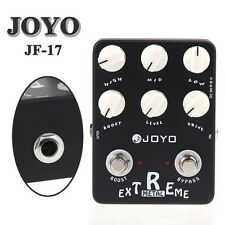 JOYO JF-17 Extreme Metal Guitar Pedal with 3-Band EQ and Gain Boost