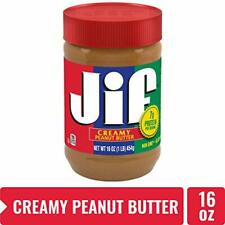 JIF Peanut Butter Spread, Creamy, 16 oz
