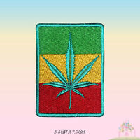 BOB Marley Rasta Flag Embroidered Iron On Sew On Patch Badge For Clothes etc