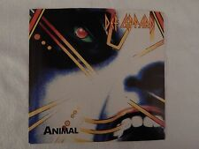 """DEF LEPPARD """"ANIMAL"""" PICTURE SLEEVE! BRAND NEW! ONLY NEW COPY ON eBAY!!"""