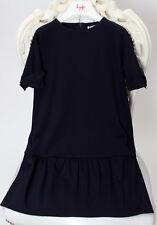 IL GUFO Viskose Kleid navy blau Gr.128-152 NEU%%%