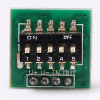 5PCS Timer Switch Control Module 10S-24H Steady Adjustable Delay Module