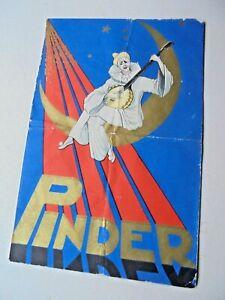 1932 programme CIRQUE PINDER circus circo program programm programma programa