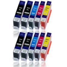 10x Druckerpatronen für HP Photosmart 5510 5514 5515 5520 5522 5524 5525 6510