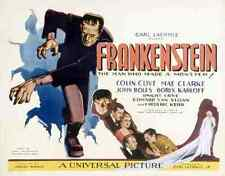 Film Frankenstein 02 A3 Box Canvas Print