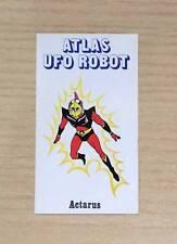 FIGURINE EDIERRE - ATLAS UFO ROBOT - ACTARUS - NUOVA - NEW STICKER