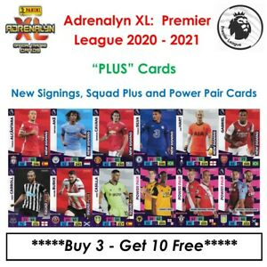 "Adrenalyn XL ""PLUS"" Premier League 2020 - 21: New Signings, Squad+ & Power Pairs"