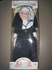 "Nun Doll ""A Treasured Collection"" Genuin Porcelain 16"" 1996 Excel Cond Collector"
