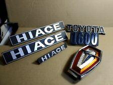 Genuine Emblem Toyota Hiace First generation