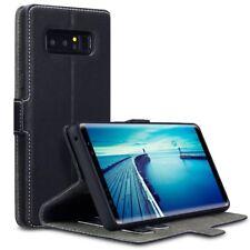 Samsung Galaxy Note 8 Terrapin Cuero Plegable Soporte Cartera Tarjetas Funda