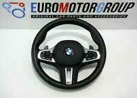 BMW M SPORTS Volant de Direction en Cuir Vibration Shift Pagaies Chauffé