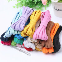 10Meters Elastic Band String Rope DIY Sewing Craft Trim Flat Sewing Accessory