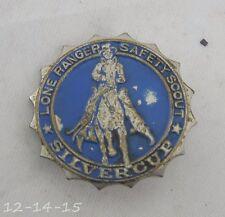 Lone Ranger Safety Scout Silvercup Pin Premium