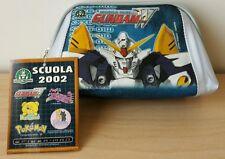 Astuccio Scuola Case School Gundam W Giochi Preziosi Robot Bambini Children New