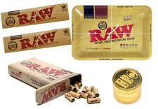 RAW CLASSIC MINI TRAY CHRISTMAS SMOKING ACCESSORIES GIFT KIT TIPS TIN GRINDER UK