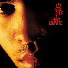 LENNY KRAVITZ - LET LOVE RULE - CD NEW UNPLAYED 1989