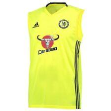 Camisetas de fútbol de clubes internacionales de manga corta amarillo adidas