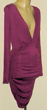 REVERSE PurpleSexyV2Waist100%CottonParty SzM NWT