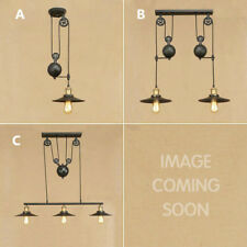 Black Pendant Light Bar Lamp Large Chandelier Lighting Kitchen Ceiling Lights