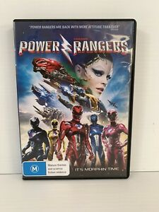 SABAN'S POWER RANGERS It's Morphin Time DVD VGC Free Post with Tracking