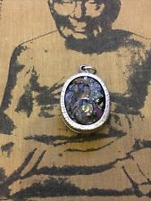 More details for natural pure lek lai (black jewel of thailand) amulet,grade a+,buddhism,protect