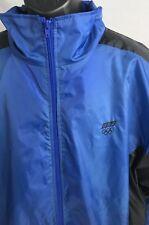 USA Olympics Track Suit Windbreaker Nylon Lined Jacket Vintage JCPenny Sz L