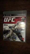 UFC Undisputed 3 (Sony PlayStation 3, 2012) *****LN*****COMPLETE*****