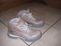 Womens Walking Boots. Size 7.5 - worn once. Helly Hansen Beige