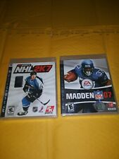 Ps3 Game Bundle ( Sealed) Madden 07 & Nhl 2k7