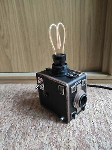 Camera Lamp Industrial Retro Vintage Upcycled Gevabox Germany Box Film LED