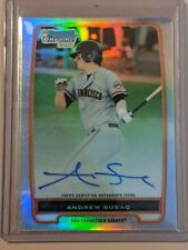 2012 Bowman Chrome Prospects Refractor 256/500 Andrew Susac #BCP97 Auto