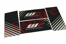 Front Fork WP Suspension Sticker Decal Set Of 4 for KTM Duke 125 200 390 S2u