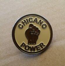 Lowrider Hat Chicano Power Biker Design Hat Button Badge Pin Metal