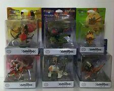 Brand New Amiibo 6 set Monster Hunter Stories Barioth Rathia Cheval Rathalos etc