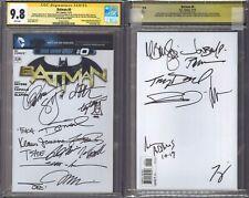 Batman 0 CGC SS 9.8 blank variant signed by 22 legendary creators Denny O'Neil 1