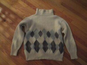 Vintage Giorgio Armani Men's Ski Sweater, XL, Wool, Alpaca, Made in Italy