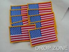 1950's to Vietnam War US Army Military Stars & Stripes Patches / Badges x 100
