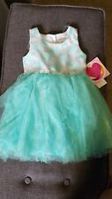 New Youngland Mint Green Tulle Dress  Size 4